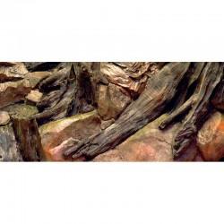 Tło strukturalne 120x50 Korzeń